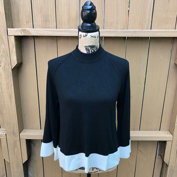 Victoria Beckham for Target Sweaters - Victoria Beckham Black and White Light Sweater